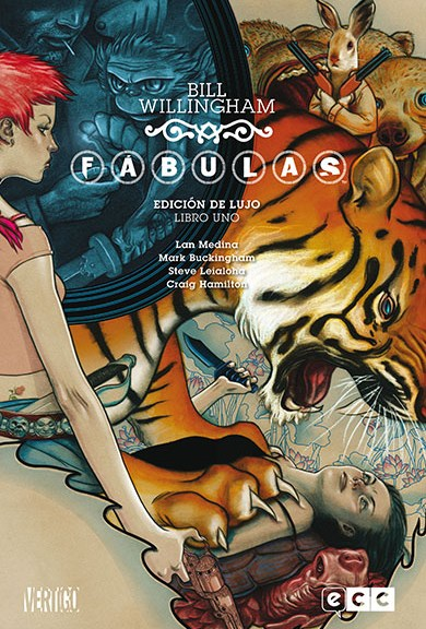 Fabulas Comic ECC Portada número 1