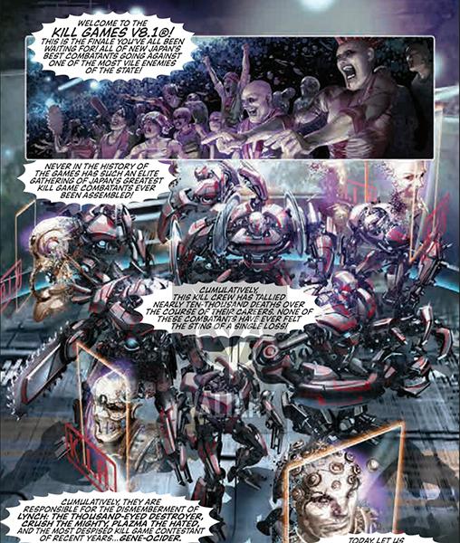Rai Valiant Comic Ciberpunk