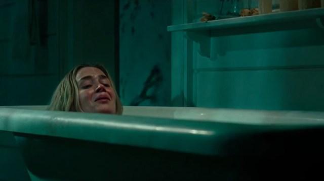 Un lugar tranquilo Emily Blunt Bañera