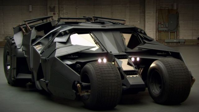 Batmóvil Batman Nolan Tumbler