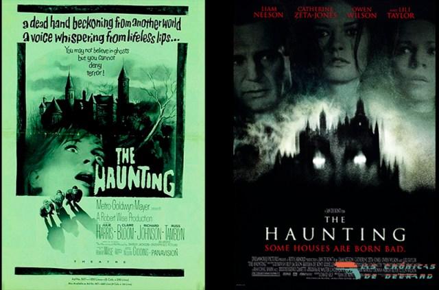 The Haunting Movie Posters 1963 y 1999. Las Crónicas de Deckard