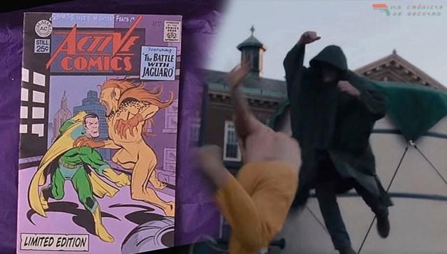 Glass Comic Protegido Combate Bestia David Dunn