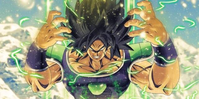 Dragon Ball Super Broly Transformacón