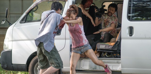 One Cut of the Dead, ataque zombi