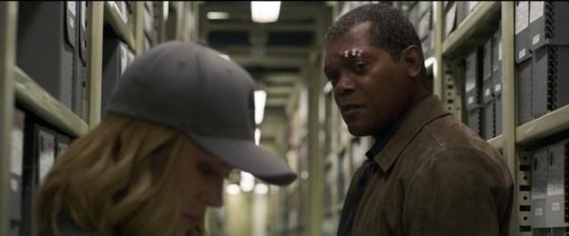 Samuel L. Jackson rejuvenecido como Nick Furia