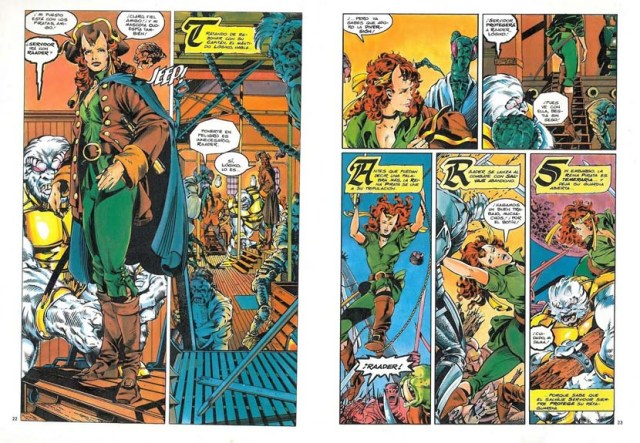 Swords of the Swashbucklers Cómics Fórum