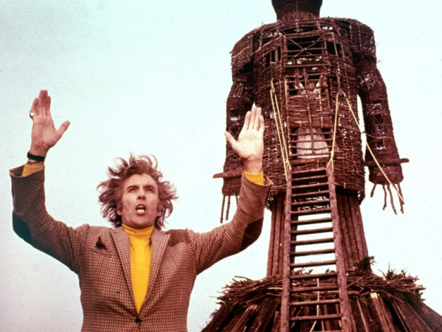 Wicker Man Christopher Lee