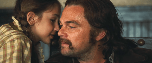 Julia Butters y Leonardo DiCaprio Once upon a time in... Hollywood