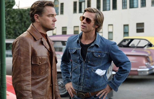 Once Upon a time in Hollywood Brad Pitt y Leonardo DiCaprio