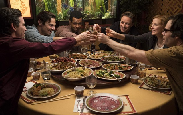 El Club de Los perdedores James Ransone, Jay Ryan, Isaiah Mustafa, James McAvoy, Jessica Chastain, Bill Hader