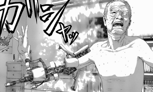 Inuyashiki, manga.