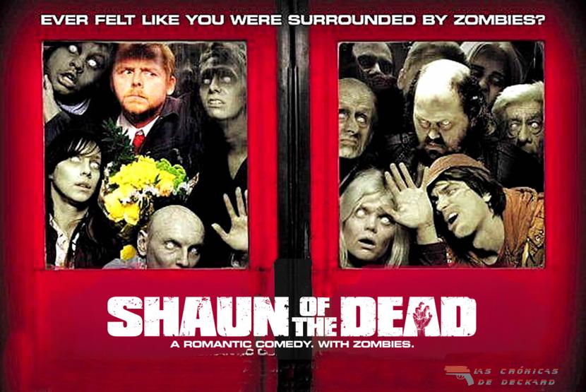 Shaun of the Dead Las Crónicas de Deckard Portada