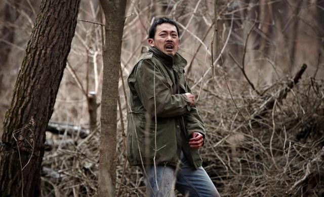 The Yellow Sea Ha Jung-woo en el bosque