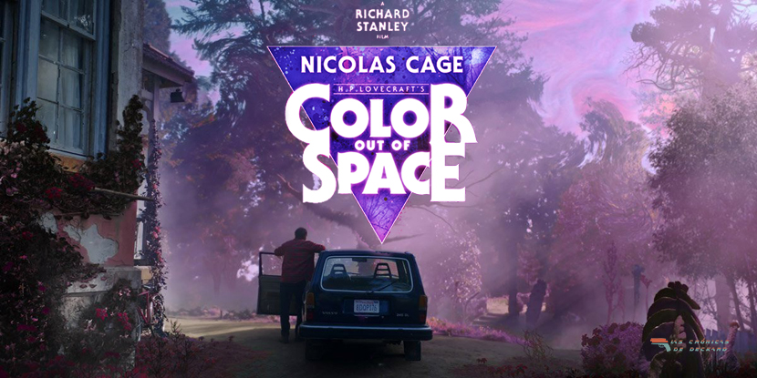 Color out of space Portada Crónicas de Deckard