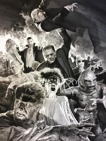Los monstruos de la Universal por Alex Ross
