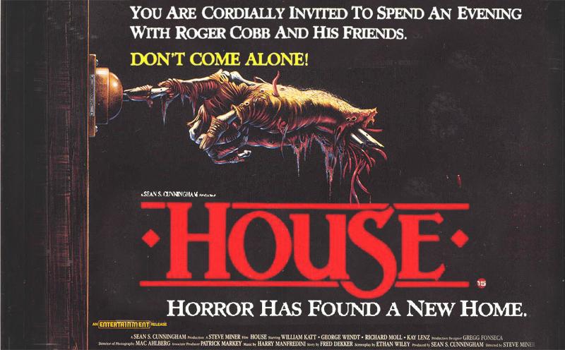 House 1985 Poster Las Crónicas de Deckard