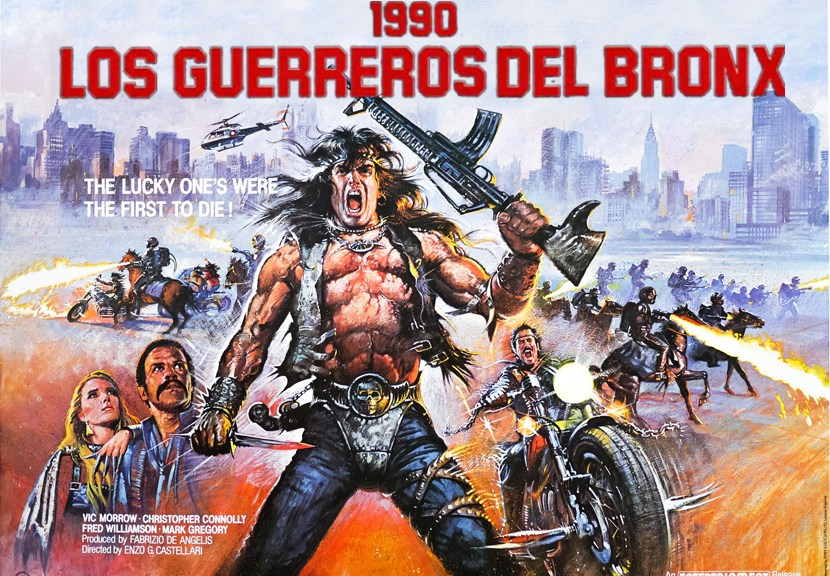 Portada Los guerreros del Bronx Las Cronicas de Deckard