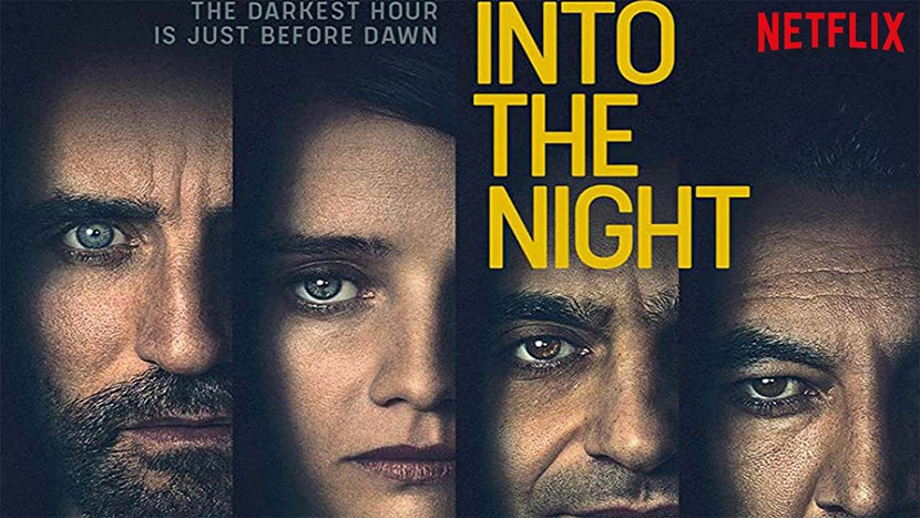 Portada serie Into the Night para Las Crónicas de Deckard