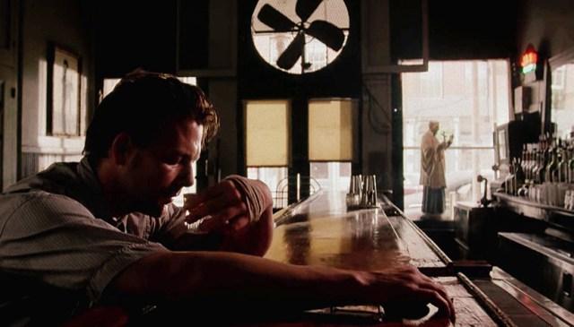 Mickey Rourke en El corazón del Angel.