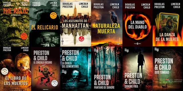 Novelas de Douglas Preston y Lincoln Child