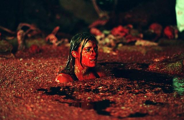 The Descent, el foso de sangre.