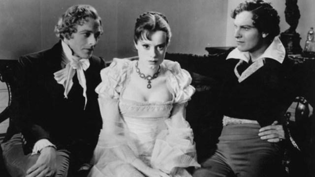 La novia de Frankenstein. Elsa Lanchester como Mary Shelley