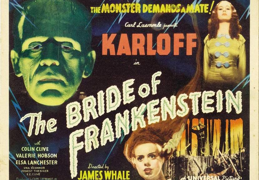 Poster La Novia de Frankenstein para Las Crónicas de Deckard