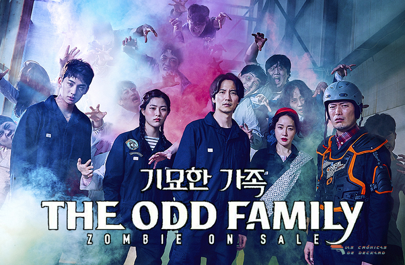 The Odd Family: Zombie on sale. Poster Las Cronicas de Deckard