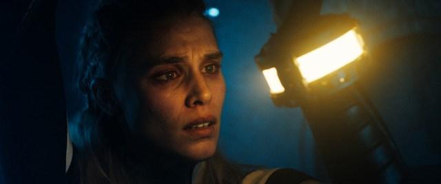 Gaia Weiss en una escena de Méandre.