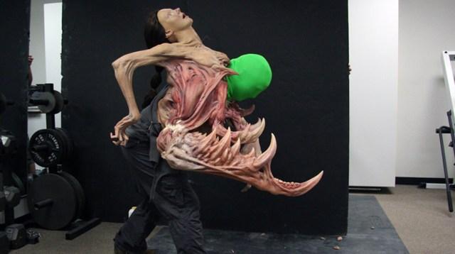 The Thing 2011 CGI and Animatronics