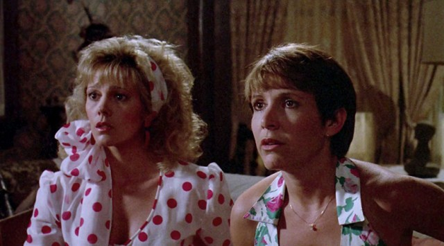 "Wendy Schaal and Carrie Fisher in ""The 'Burbs"" (Joe Dante, 1989)"