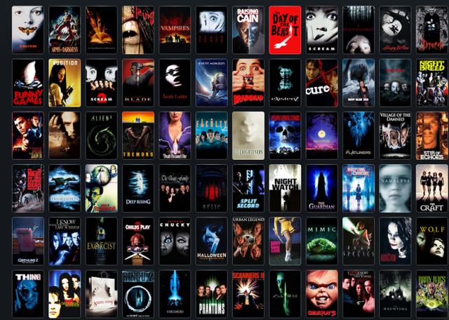 Horror Films 90. Cine de Terror de los 90