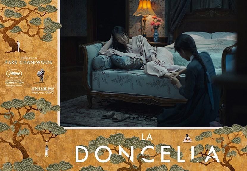 Poster The Handmaiden Imagen para la Critica Las Crónicas de Deckard
