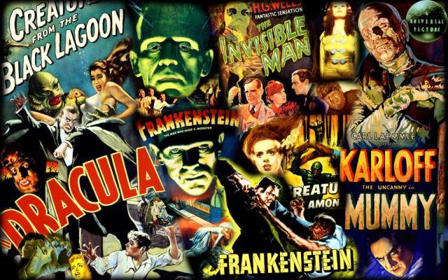 Monstruos clásicos de la Universal