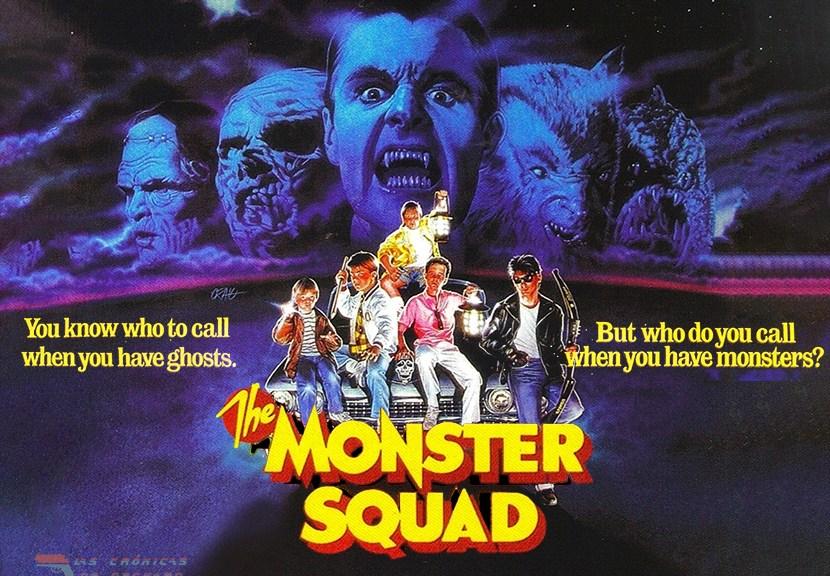 Una pandilla alucinante (The Monster Squad) Poster para la critica de Las Crónicas de Deckard