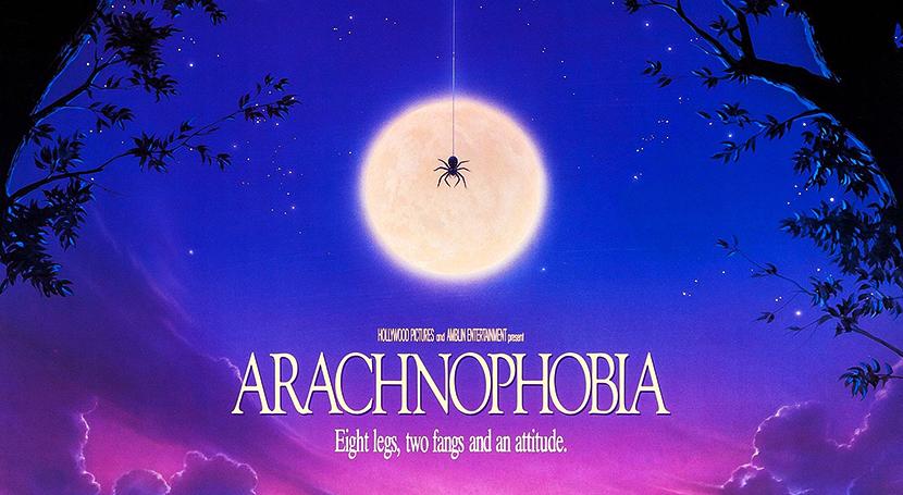 Poster Aracnofobia Crítica Las Crónicas de Deckard