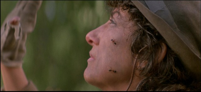 Woman with ants in 'Prince of Darkness'
