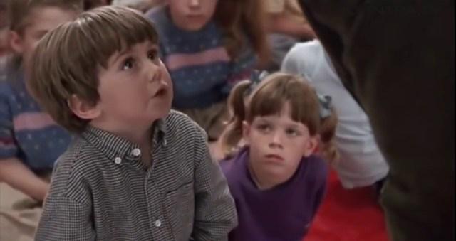Boy in 'Kindergarten cop' (Ivan Reitman, 1990)