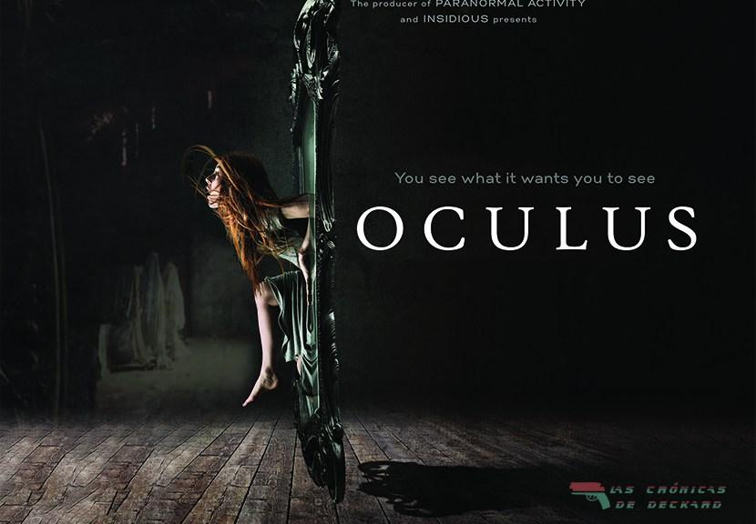 Movie Poster Oculus Mike Flanagan Critica Las Crónicas de Deckard