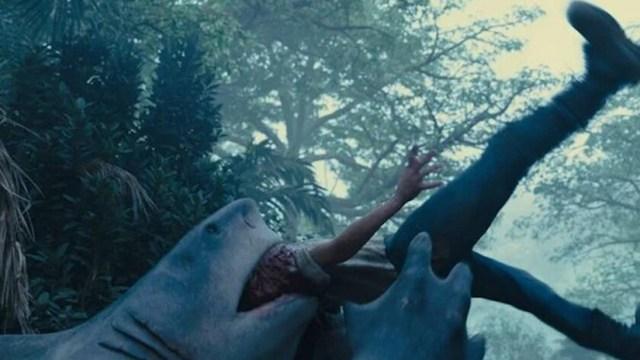 King Shark en El Escuadron Suicidia