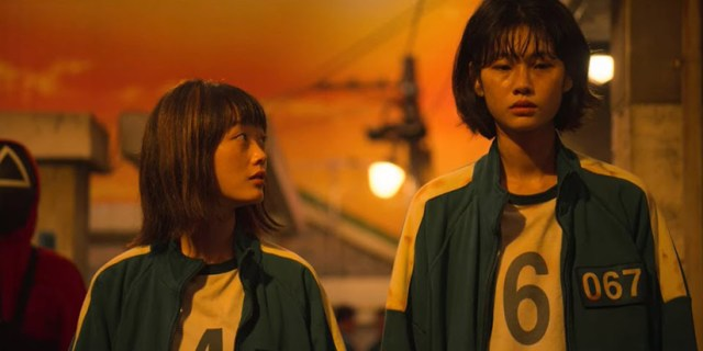 Lee Yoo-mi y Jung Ho-yeon en El Juego del Calamar.
