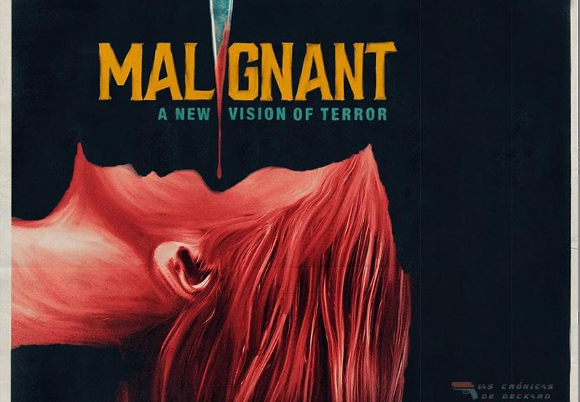 Maligno (Malignant de James Wan) Movie poster crítica Las Crónicas de Deckard