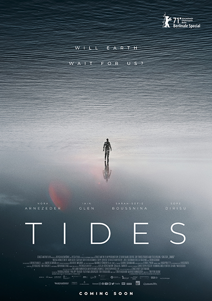 """Poster de 'Tides' (Tim Fehlbaum, 2021). Para """"Sitges 2021"""""""