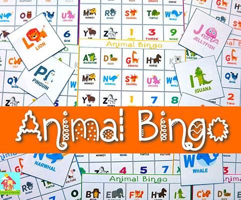 Imparo l'inglese con il Bingo!