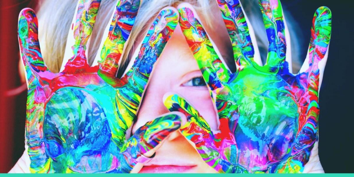 I miei primi esperimenti: creacolori!