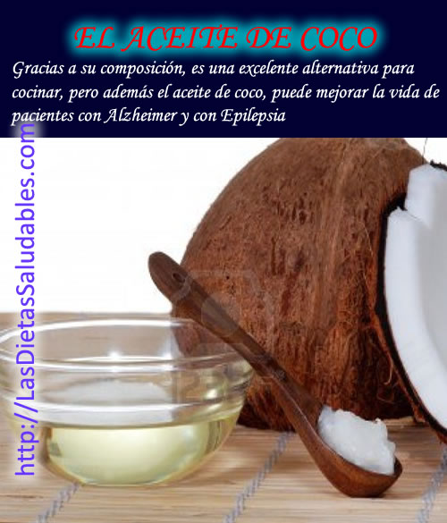 Propiedades del aceite de coco