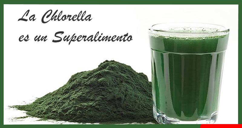 usos y beneficios de la chlorella