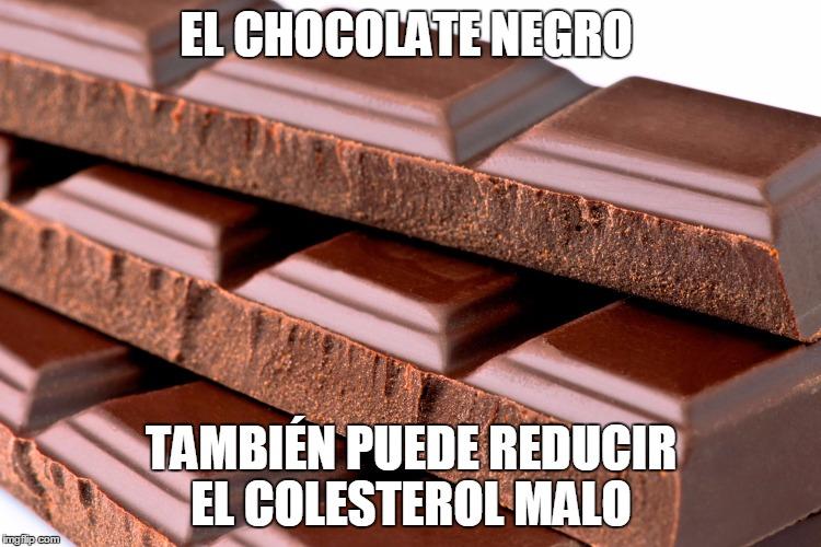 10 Super Alimento Para Bajar el Colesterol el chocolate