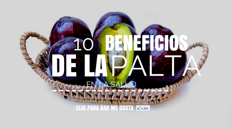 10 Beneficios De La Palta En La Salud