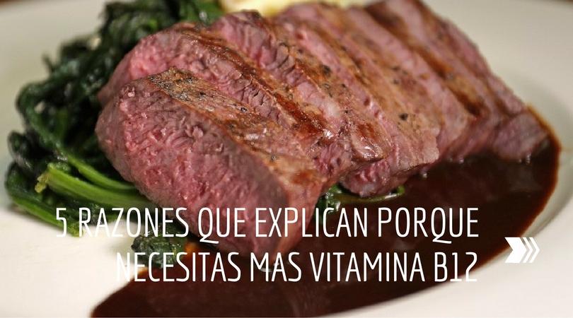 5 Razones que Explican Porque Necesitas Mas La Vitamina B12